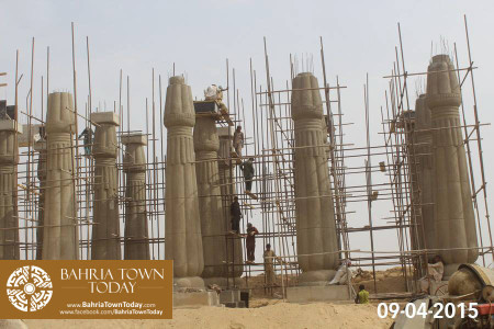 Bahria Town Karachi Latest Progress Update - April 2015 (4)