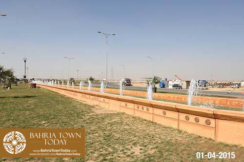 Bahria Town Karachi Latest Progress Update – April 2015 (5)