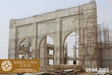 Bahria Town Karachi Latest Progress Update - April 2015 (6)