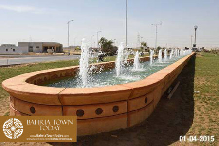 Bahria Town Karachi Latest Progress Update - April 2015 (7)