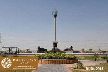 Bahria Town Karachi Latest Progress Update - April 2015 (9)