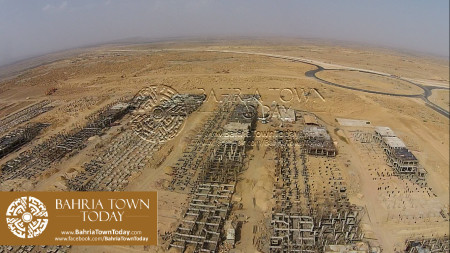 Thousands of 200 Yards Bahria Homes Under Construction Near Ali Block & Bahria Heights (12)