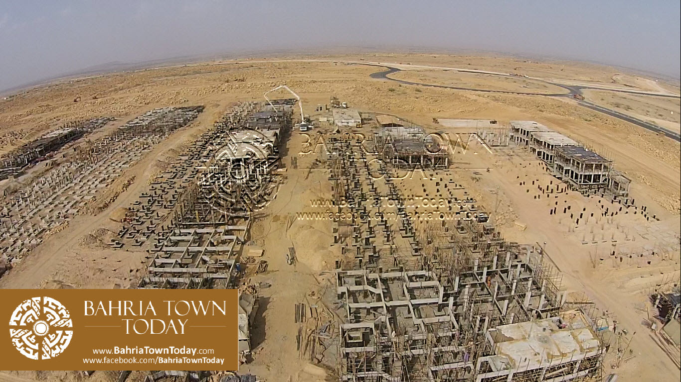 Thousands of 200 Yards Bahria Homes Under Construction Near Ali Block & Bahria Heights (15)