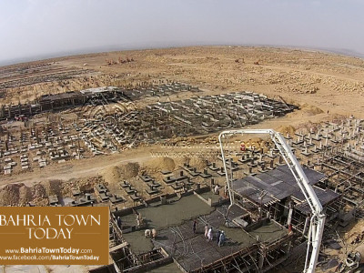 Thousands of 200 Yards Bahria Homes Under Construction Near Ali Block & Bahria Heights