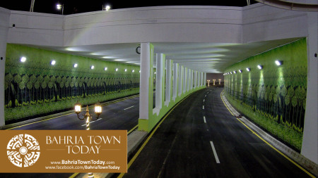 Inauguration of Clifton Underpasses & Flyover by Malik Riaz Hussain (1)