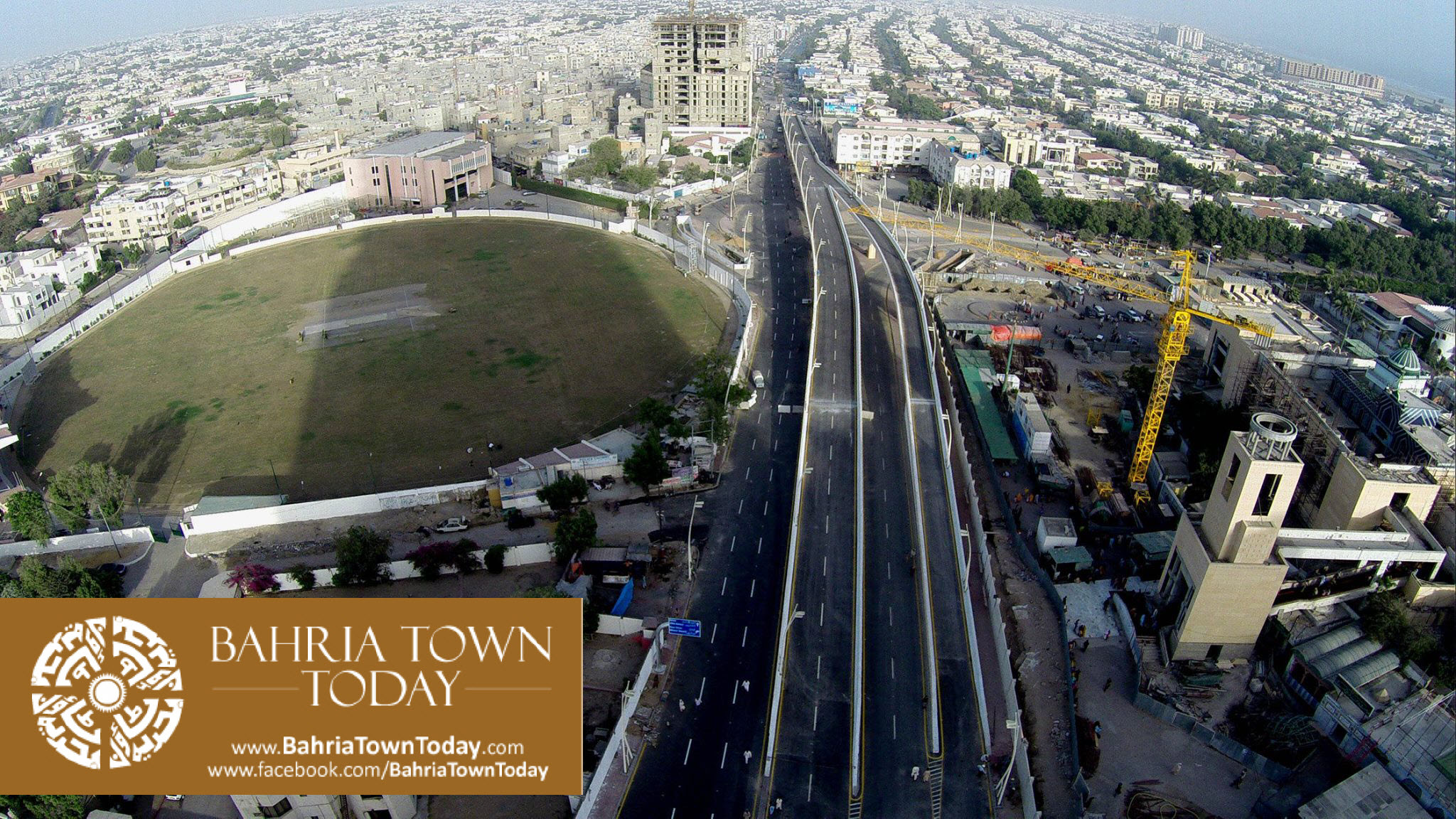 Inauguration of Clifton Underpasses & Flyover by Malik Riaz Hussain (12)
