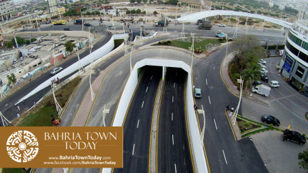 Inauguration of Clifton Underpasses & Flyover by Malik Riaz Hussain (15)