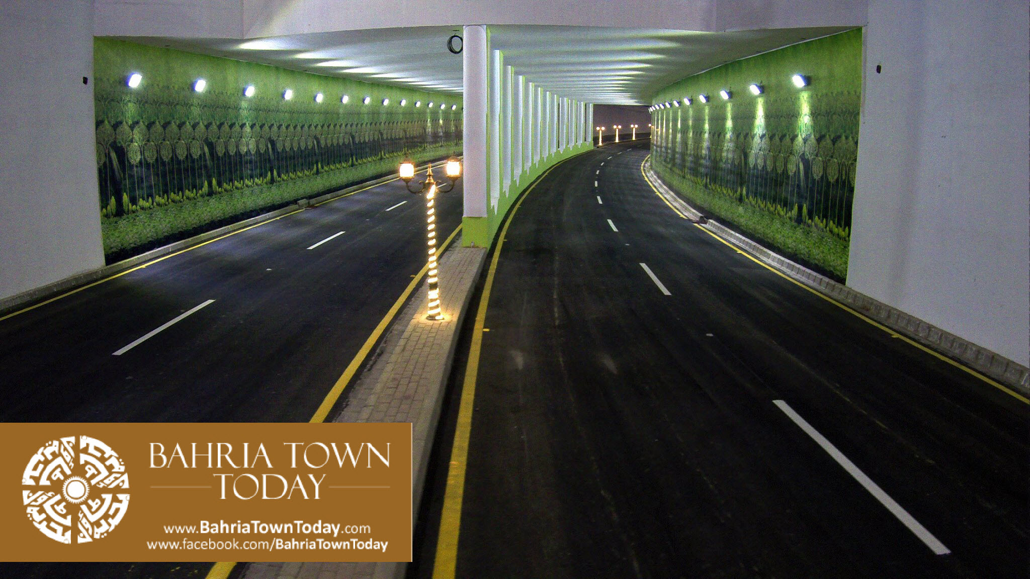 Inauguration of clifton underpasses flyover by malik riaz hussain altavistaventures Gallery