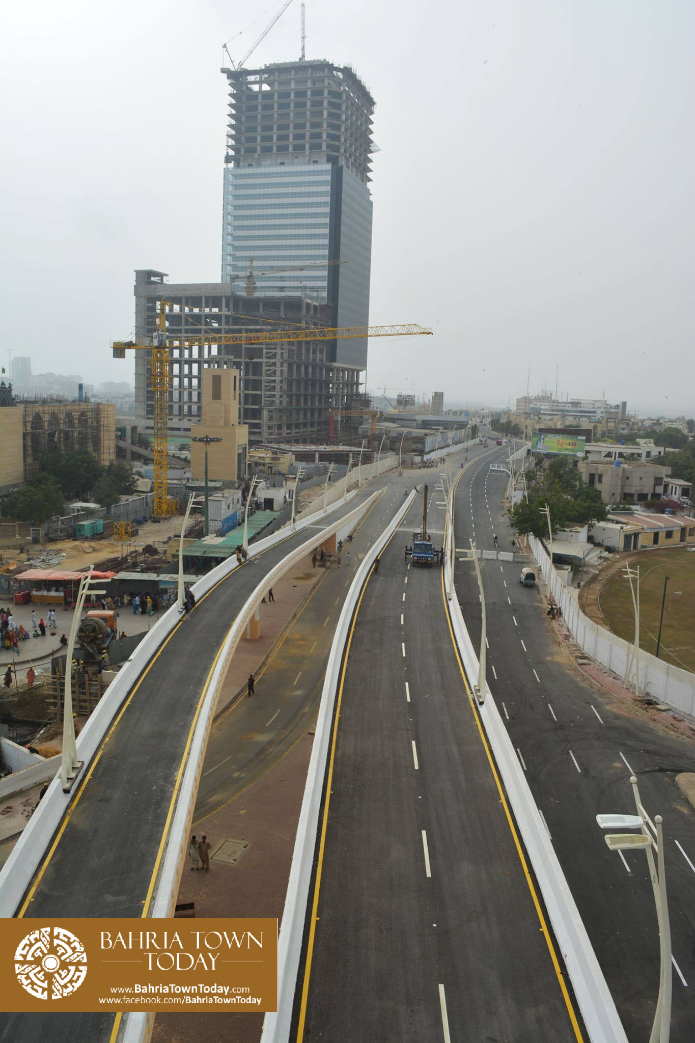 Inauguration of Clifton Underpasses & Flyover by Malik Riaz Hussain (5)