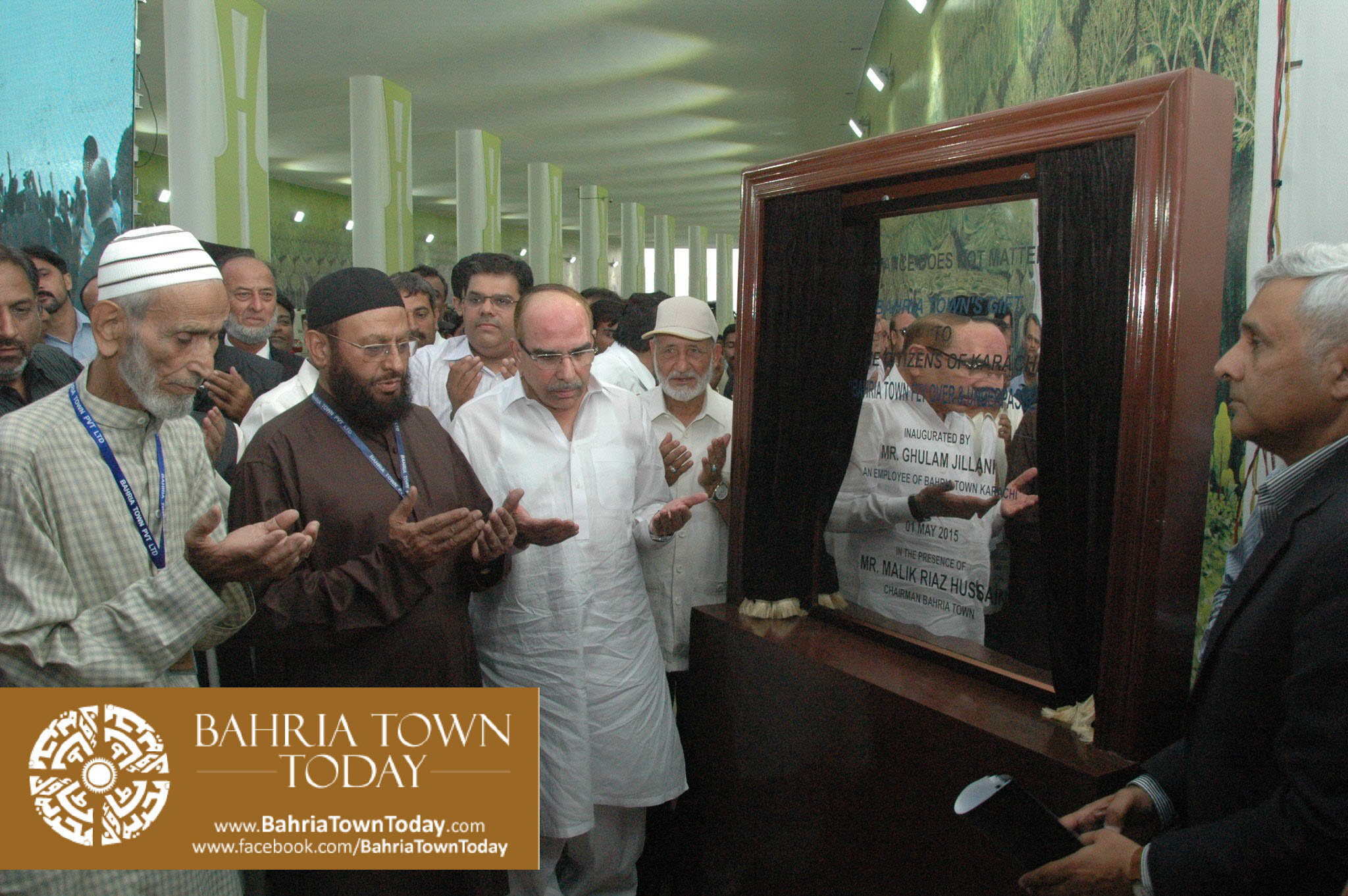 Inauguration of Clifton Underpasses & Flyover by Malik Riaz Hussain (6)