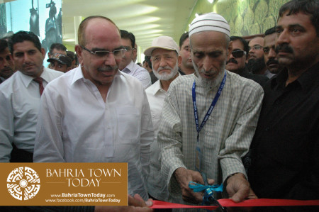 Inauguration of Clifton Underpasses & Flyover by Malik Riaz Hussain (7)
