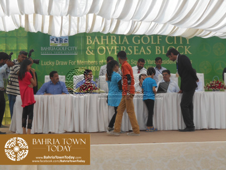 Bahria Golf City Karachi - Mercedes Benz Cars Balloting Results (58)