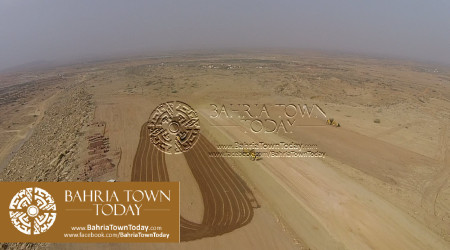 A Bird Eye View of Bahria Golf City Karachi - May 2015 (1)