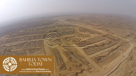 A Bird Eye View of Bahria Golf City Karachi - May 2015 (10)