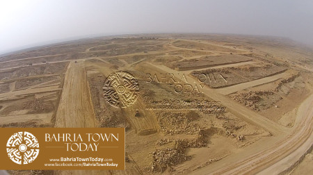 A Bird Eye View of Bahria Golf City Karachi - May 2015 (11)