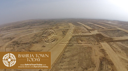 A Bird Eye View of Bahria Golf City Karachi - May 2015 (12)