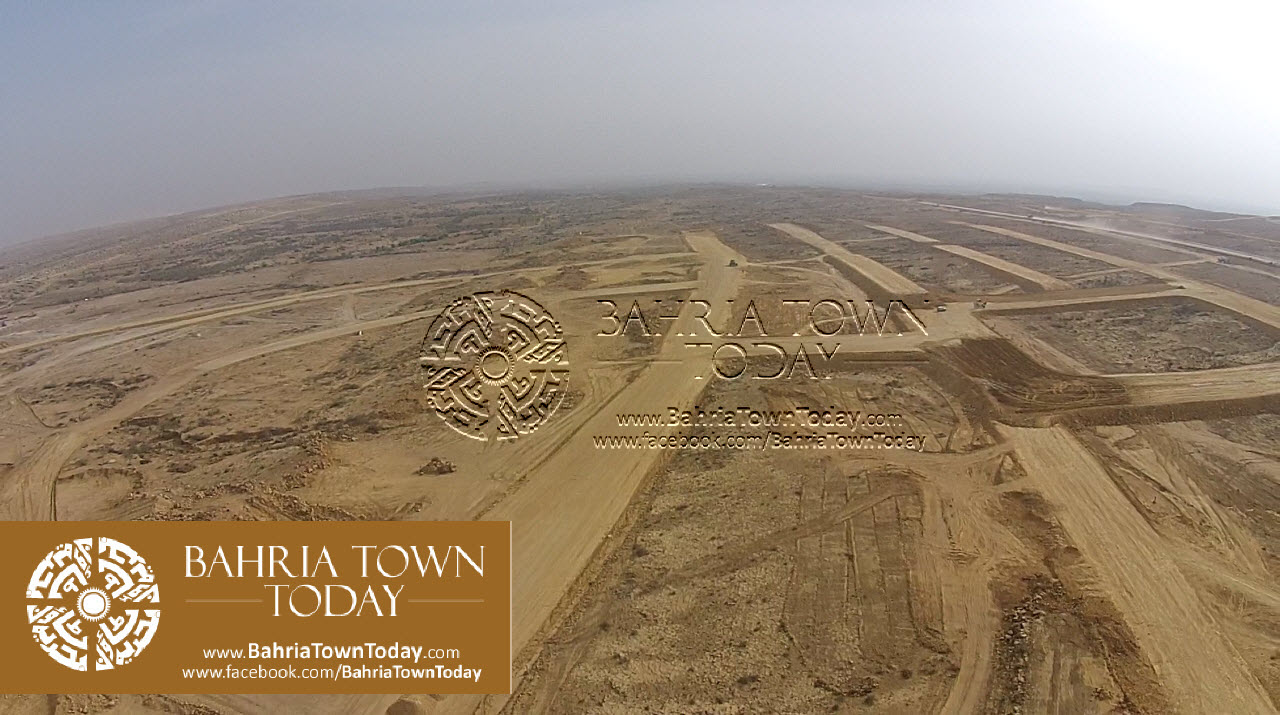 A Bird Eye View of Bahria Golf City Karachi – May 2015 (12)