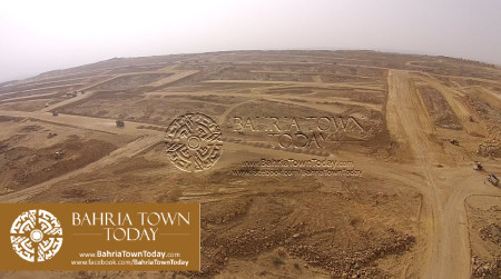 A Bird Eye View of Bahria Golf City Karachi - May 2015 (5)