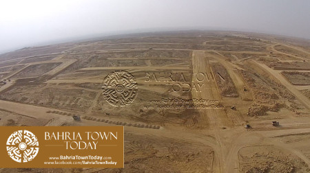 A Bird Eye View of Bahria Golf City Karachi - May 2015 (6)