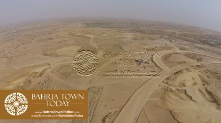 A Bird Eye View of Bahria Golf City Karachi - May 2015 (7)