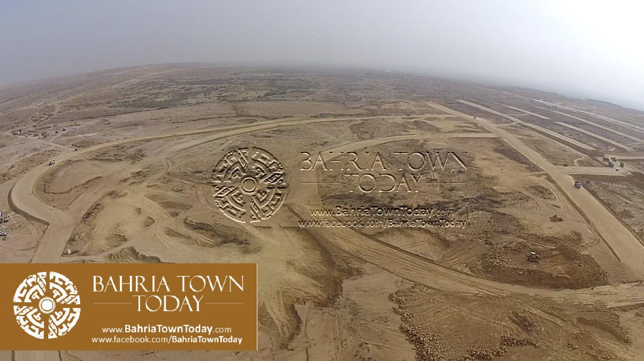 A Bird Eye View of Bahria Golf City Karachi – May 2015 (8)