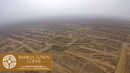 A Bird Eye View of Bahria Golf City Karachi - May 2015 (9)