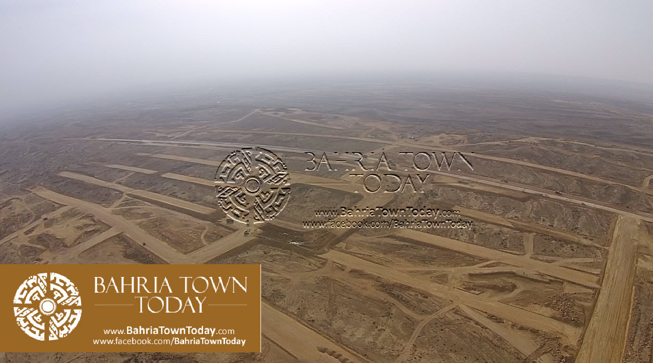 A Bird Eye View of Bahria Golf City Karachi – May 2015 (9)