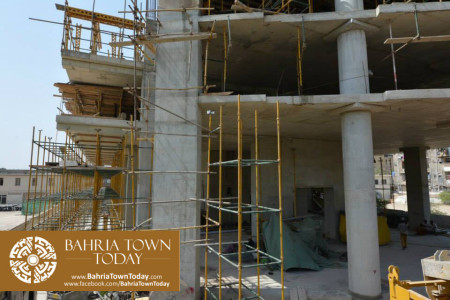 Hoshang Pearl Karachi Latest Progress Update - May 2015 (9)