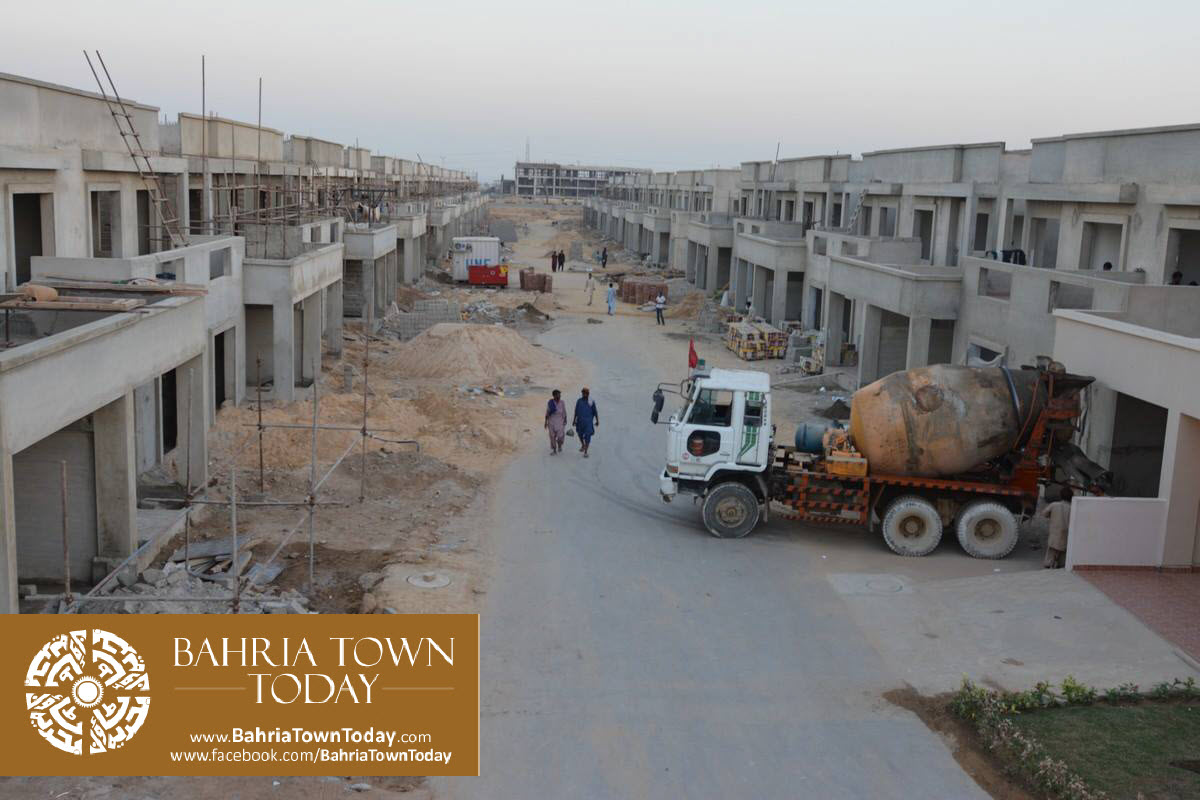Bahria Town Karachi Latest Progress Update – September 2015 (1)