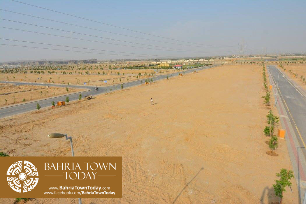 Bahria Town Karachi Latest Progress Update – September 2015 (2)