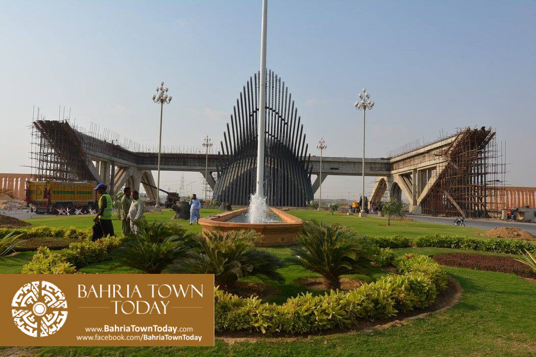 Bahria Town Karachi Latest Progress Update – September 2015 (32)