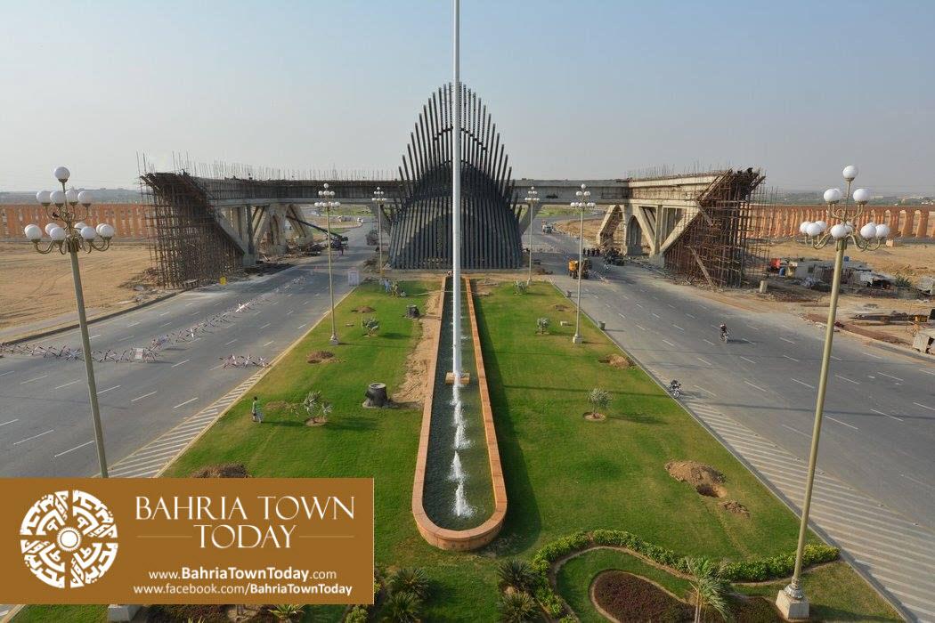 Bahria Town Karachi Latest Progress Update – September 2015 (38)
