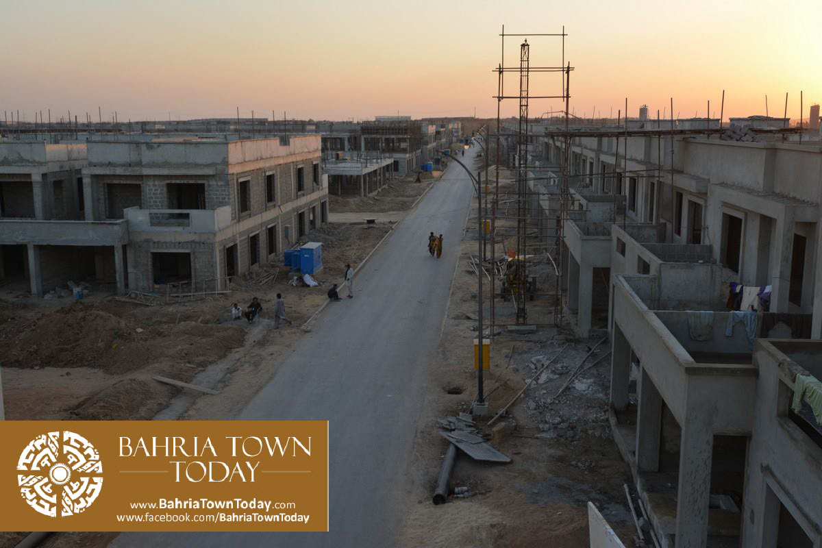 Bahria Town Karachi Latest Progress Update – September 2015 (46)