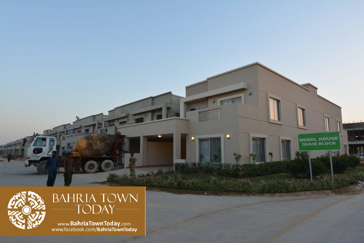 Bahria Town Karachi Latest Progress Update – September 2015 (53)