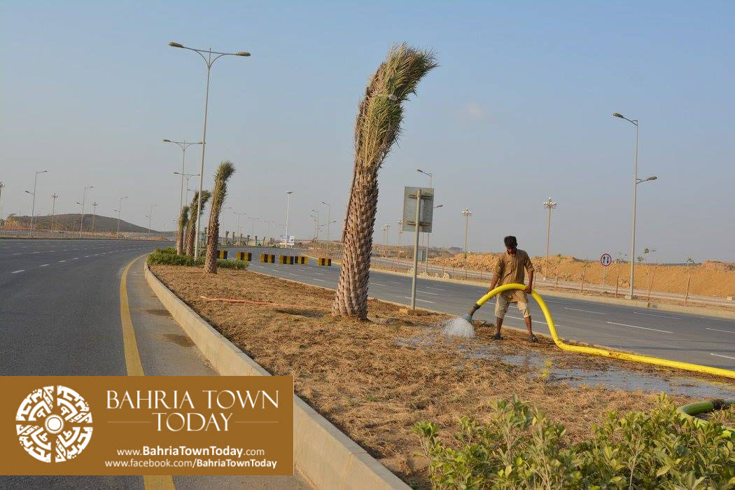 Bahria Town Karachi Latest Progress Update – September 2015 (56)