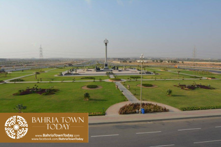 Bahria Town Karachi Latest Progress Update - September 2015 (66)