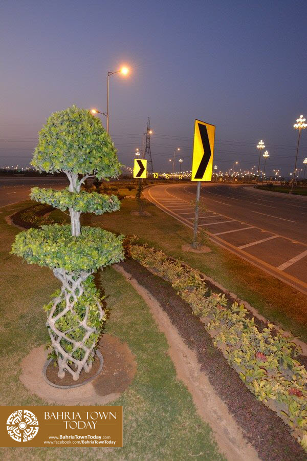 Bahria Town Karachi Latest Progress Update – September 2015 (75)