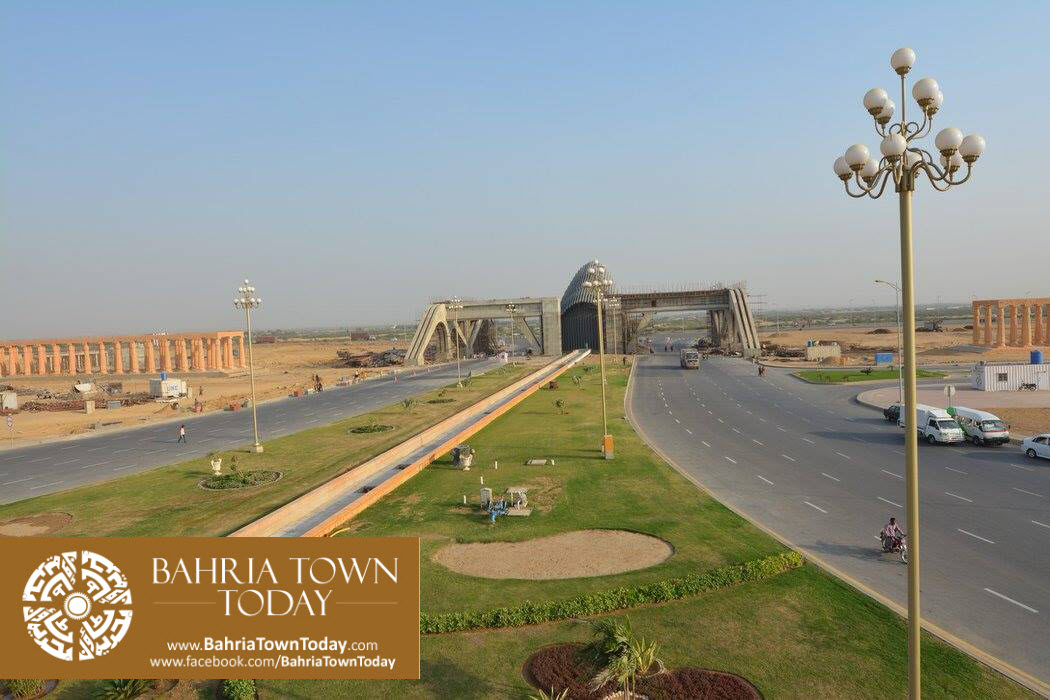 Bahria Town Karachi Latest Progress Update – September 2015 (82)