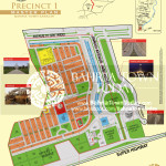Bahria Town Karachi - Precinct 01 High Resolution Map