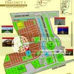 Bahria Town Karachi - Precinct 01 Map