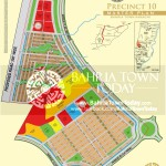 Bahria Town Karachi - Precinct 10 High Resolution Map