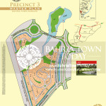 Bahria Town Karachi - Precinct 03 High Resolution Map