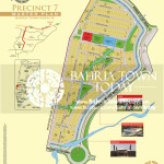 Bahria Town Karachi - Precinct 07 High Resolution Map