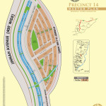 Bahria Town Karachi - Precinct 14 High Resolution Map