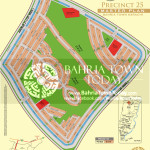 Bahria Town Karachi - Precinct 25 High Resolution Map