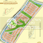 Bahria Town Karachi - Precinct 26 High Resolution Map