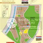 Bahria Town Karachi - Precinct 28 High Resolution Map