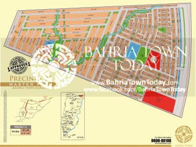 Bahria Town Karachi – Precinct 31 Map