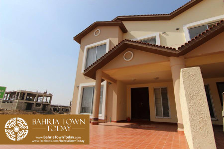 [Model House] 125 Yards Bahria Homes in Bahria Town Karachi (28)
