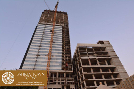 Bahria Town Icon Karachi Latest Progress Update - November 2015 (3)